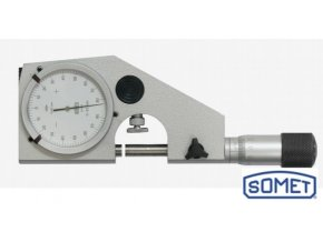 Mikrometrický pasametr 0 - 125/0,002 mm, Somet