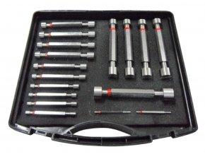 Sada válečkových mezních kalibrů 3 - 32 mm, tolerance H7, DIN 2245