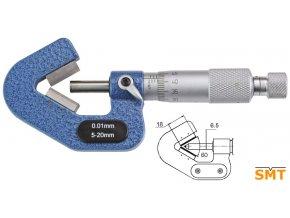 Mikrometr na tříbřité nástroje