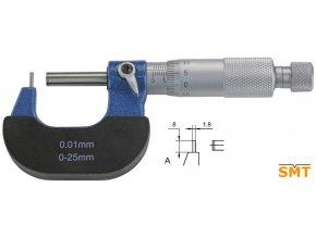 Mikrometr na stěny trubek