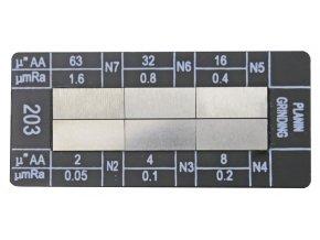 318036.1 Vzorník drsnosti Broušení ploch