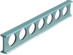 Montážní příměrná pravítka ocelová, DIN 874 tř.1