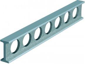 Montážní příměrná pravítka ocelová, široké plochy, DIN 874 tř.0