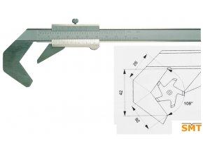 201132 Posuvné měřítko pro pětibřité nástroje
