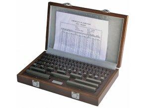 Sady základních koncových měrek 32 ks, DIN EN ISO 3650, TVRDOKOV
