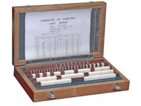 Sady základních koncových měrek 46 ks, DIN EN ISO 3650, KERAMIKA