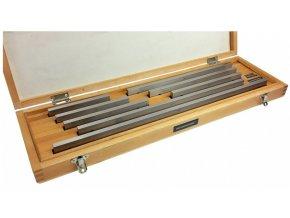Sady dlouhých základních koncových měrek 8 ks, 25 - 200 mm, DIN EN ISO 3650, OCEL