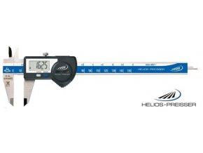 1326518  Posuvné měřítko digitální 0-200 mm, IP67, plochý hloubkoměr, výstup dat