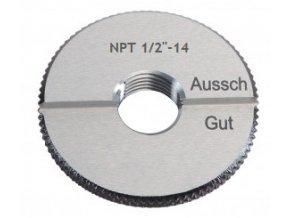 Závitové mezní kroužky kuželové NPT - trubkové, ANSI/ASME B 1.20.1