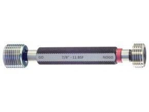 Závitové mezní kalibry BSF - Whitworth, jemné stoupání, BS 84