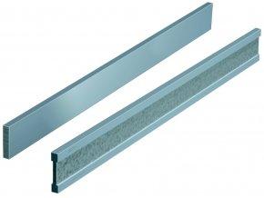 Příměrná pravítka plochá, NEREZ, DIN 874 tř.1