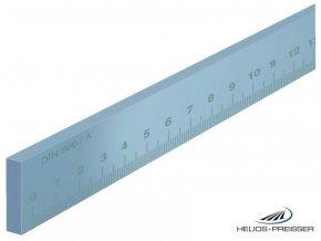 0451201 Ocelové měřítko ploché Preisser