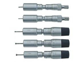 Dvoudotykové mikrometrické dutinoměry 2 - 6 / 0,001 mm, DIN 863
