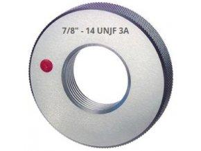 Závitové kroužky UNJF - palcové, Zmetkové,  ANSI B 1.2 / BS 919