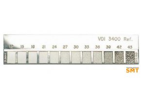 VDI 3400 Ref.12 45 vzorkovnice drsnosti elektrojiskrové