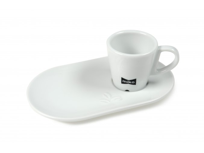 RS1084 508442 SAUCER DESIGN TULIP OVAL MINI 6 CL + CUP MIKO