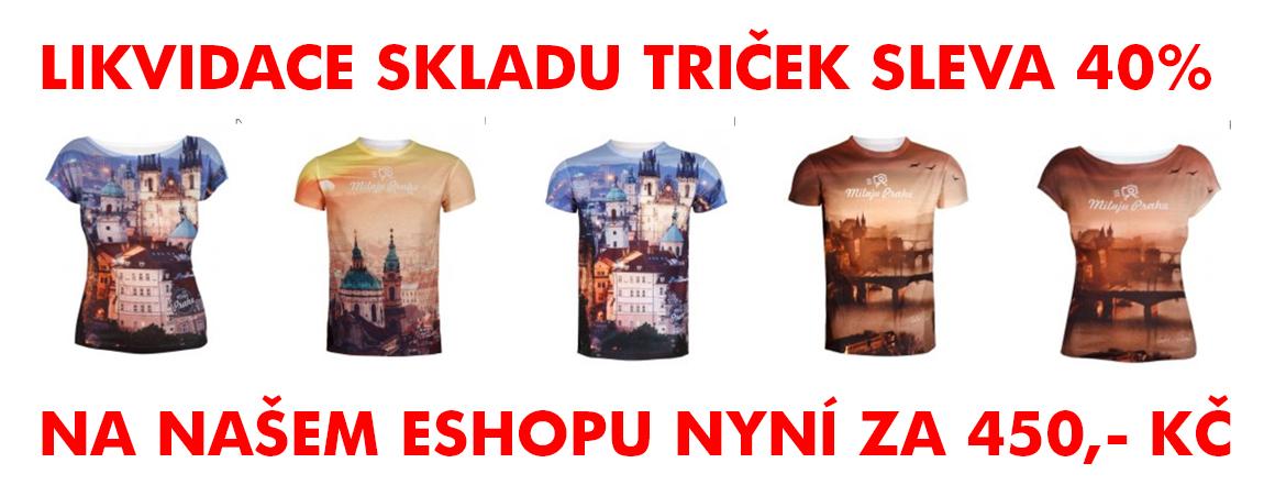 Objednávejte trička z nové kolekce Miluju Prahu 2015