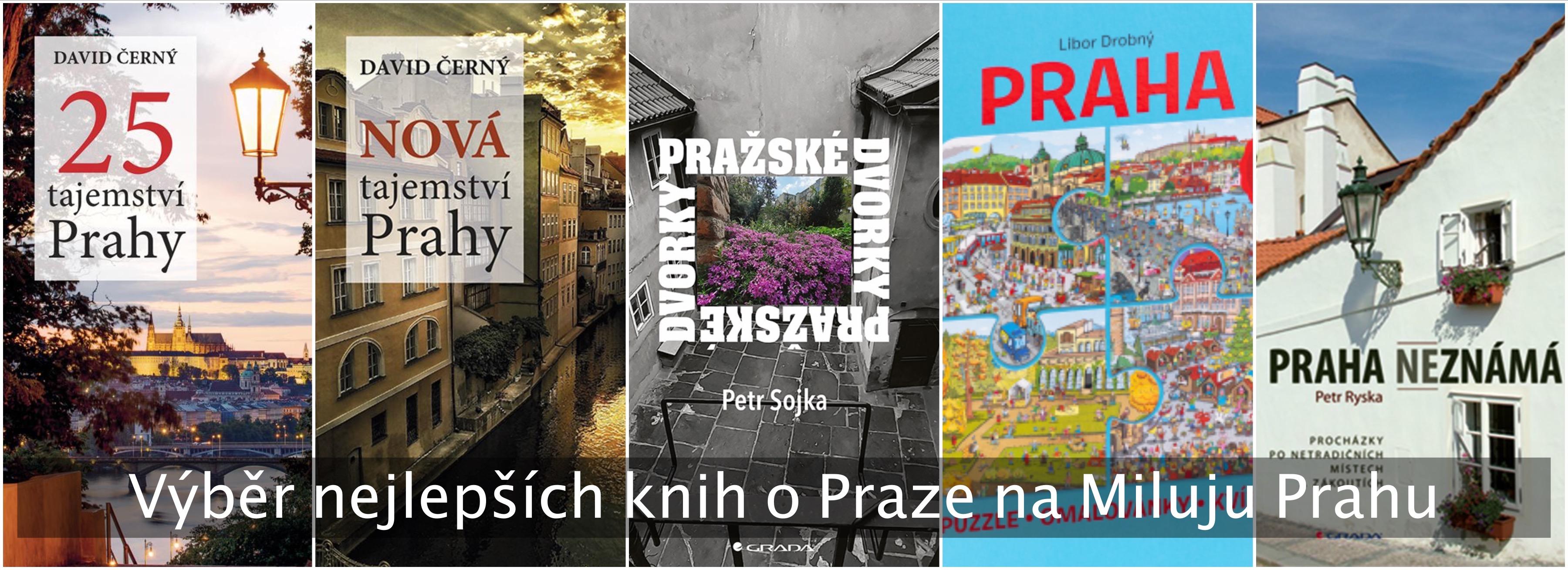 Nejlepší knihy o Praze