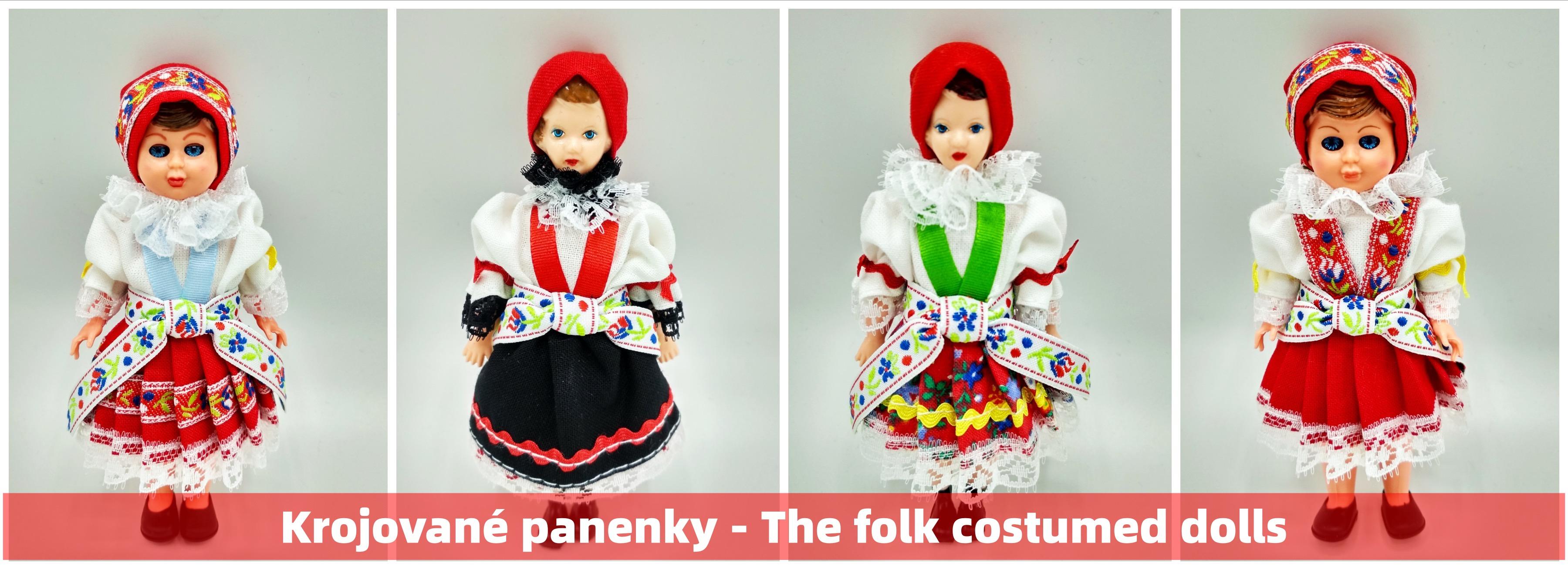 Krojované panenky - The folk costumed dolls