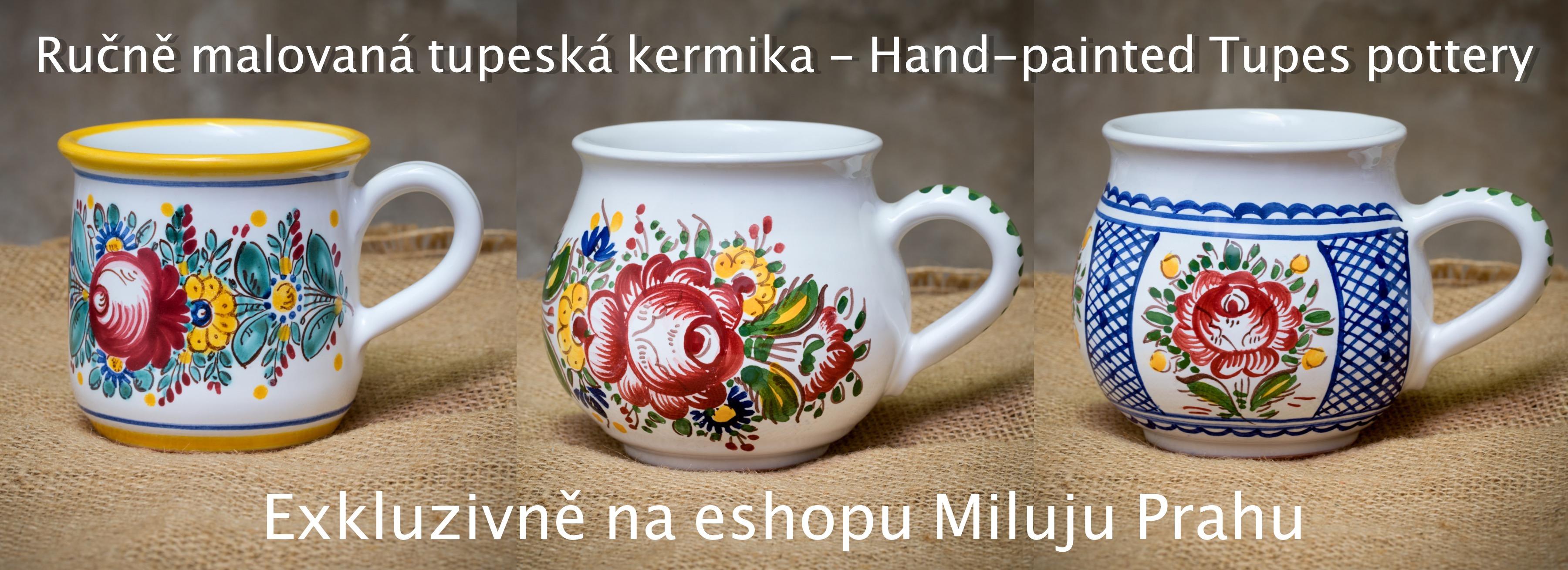 Ručně malovaná Tupeská keramika