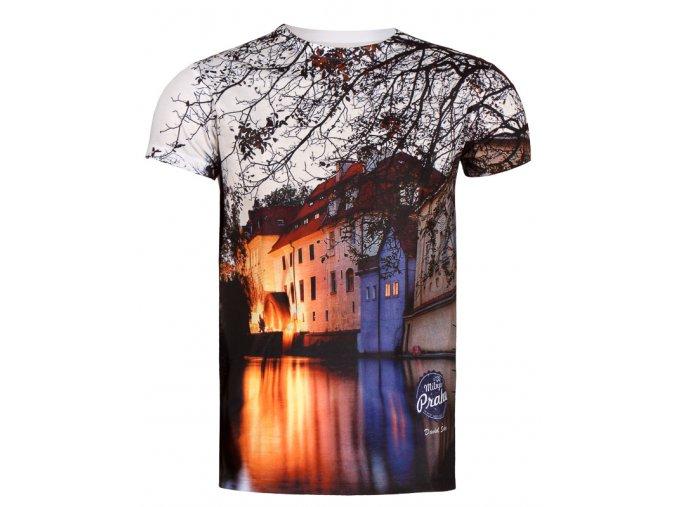Pánská kolekce triček MilujuPrahu.cz by David Šedivý - Kampa