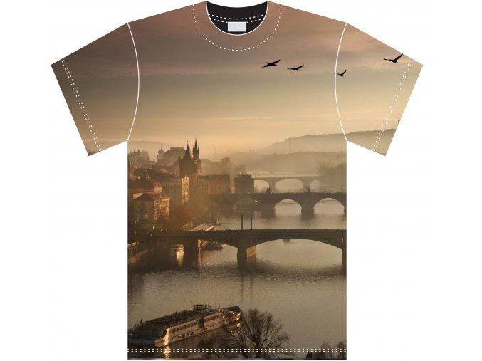 Dámská kolekce triček MilujuPrahu.cz by Charlie Fotograf - Pražské mosty