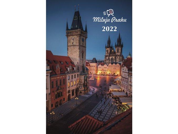 titulka milujuPRAHU 2022 navrh 1