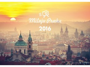 Sběratelský kalendář Miluju Prahu 2016