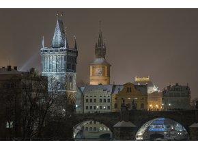 Fotografie Křížovnické předmostí Karlova mostu od Michala Fice - KAPA deska