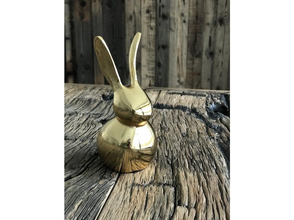 """Zlatý zajíc """"Golďák"""" malý 15 cm"""