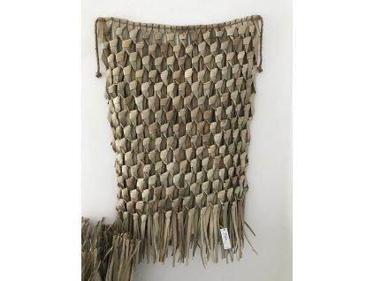Designová ručně pletená rohož