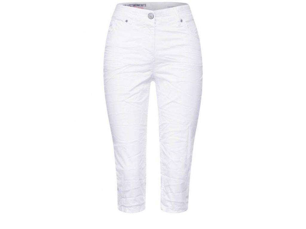 Cecil kalhoty 374253 bílé