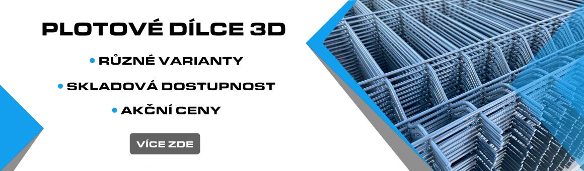 Plotové dílce 3D