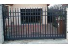Posuvná brána - Liniová standard, grafit