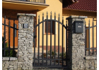 Vchodová branka - Radius standard, grafit