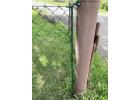 Konzole pro pletivo Zn+PVC, výška 150 cm, průměr 12 mm