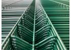 Plotový panel 3D CLASSIC Zn+PVC - výška 123 cm, Ø drátu 5 mm, zelený