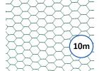 chovatelske sestihranne pletivo poplastovane zn pvc 13 mm vyska 50 cm role 10 m 8595068410783