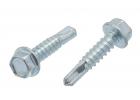 Samovrtný šroub TEX 5,5x38 mm, DIN 7504K, Zn