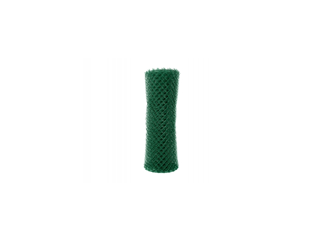 2864 poplastovane pletivo standart s nd vyska 125 cm drat 2 5 mm oko 55x55 mm pvc zelene