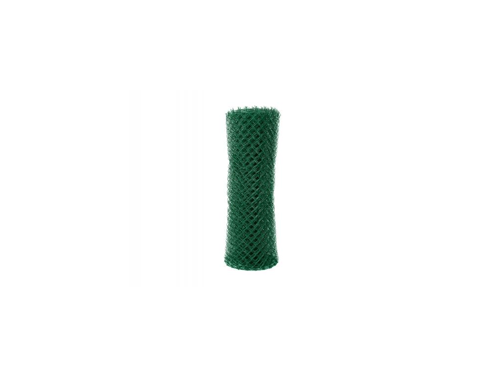 2876 poplastovane pletivo standart s nd vyska 160 cm drat 2 5 mm oko 55x55 mm pvc zelene