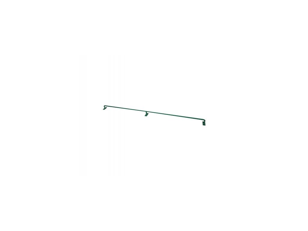 3056 konzole pro pletivo zn pvc vyska 125 cm prumer 12 mm