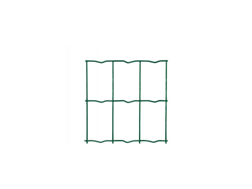 3134 svarovane pletivo middle drat 2 2 mm vyska 100 cm pvc zelene