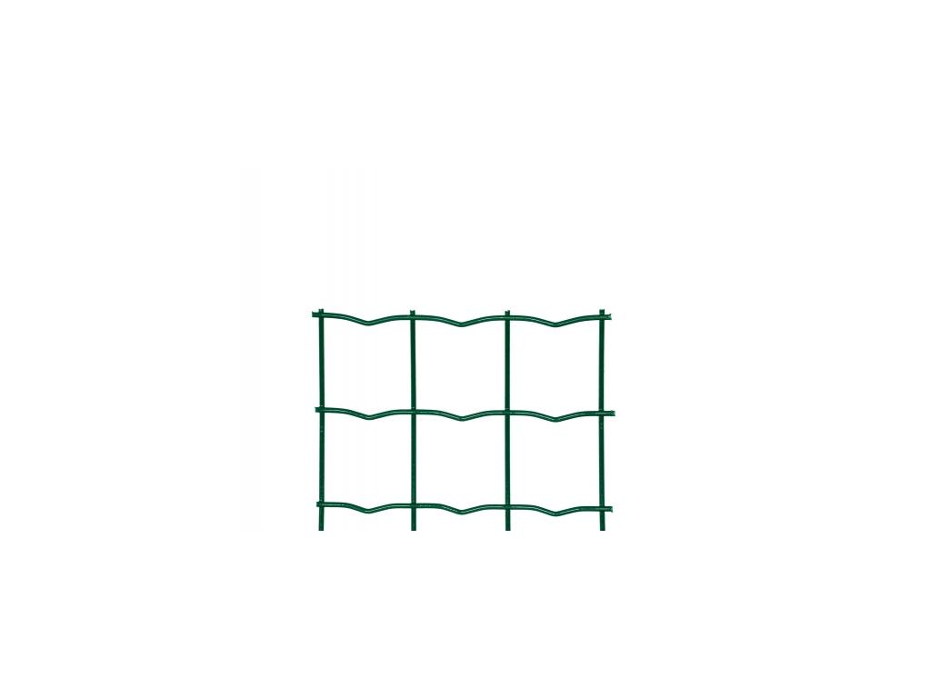 3155 svarovane pletivo heavy drat 2 5 mm vyska 100 cm pvc