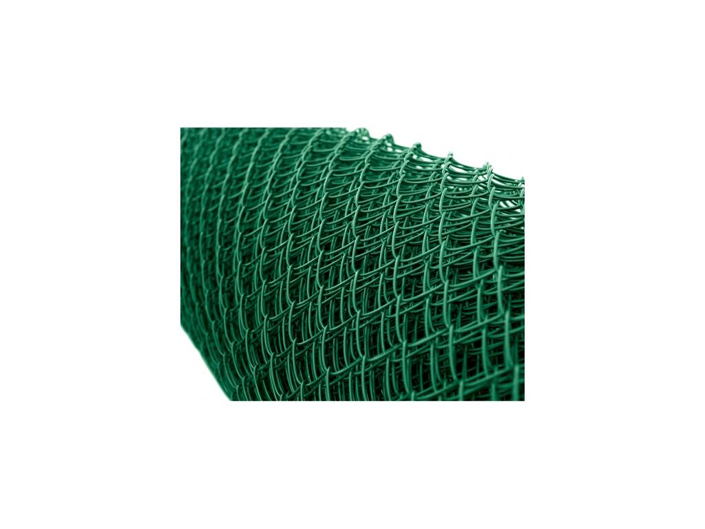3233 poplastovane pletivo tenis bez nd vyska 400 cm drat 2 7 mm oko 45x45 mm pvc zelene