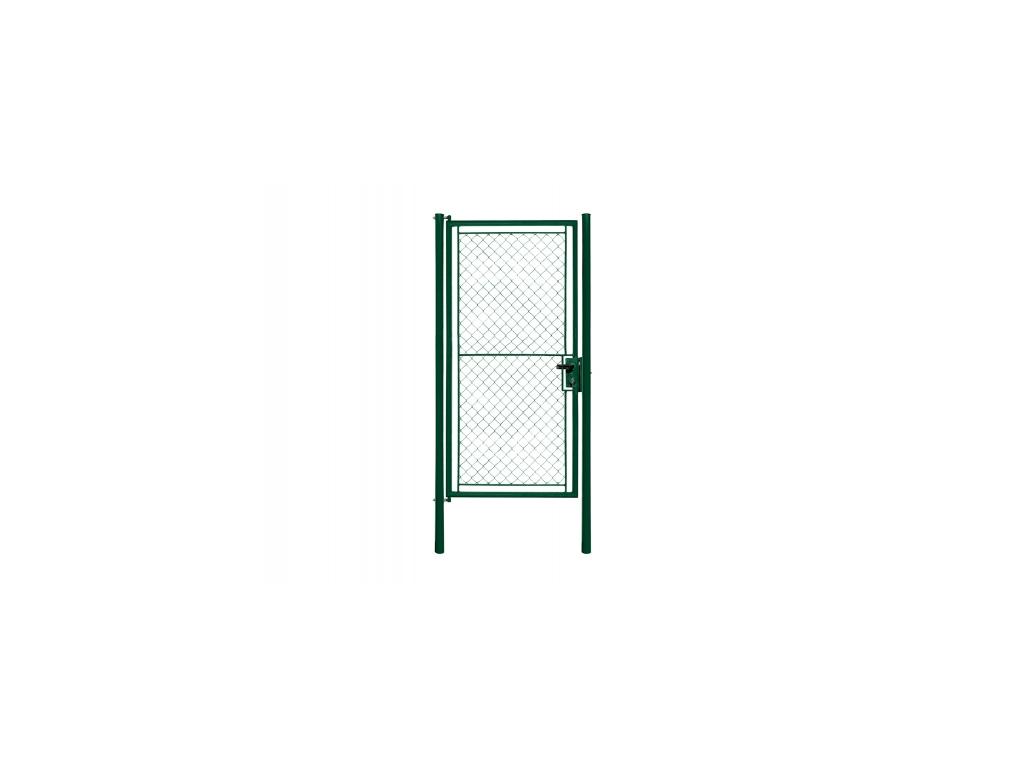 3257 jednokridla branka tenis zelena rozmery 1250x2200 mm zn pvc