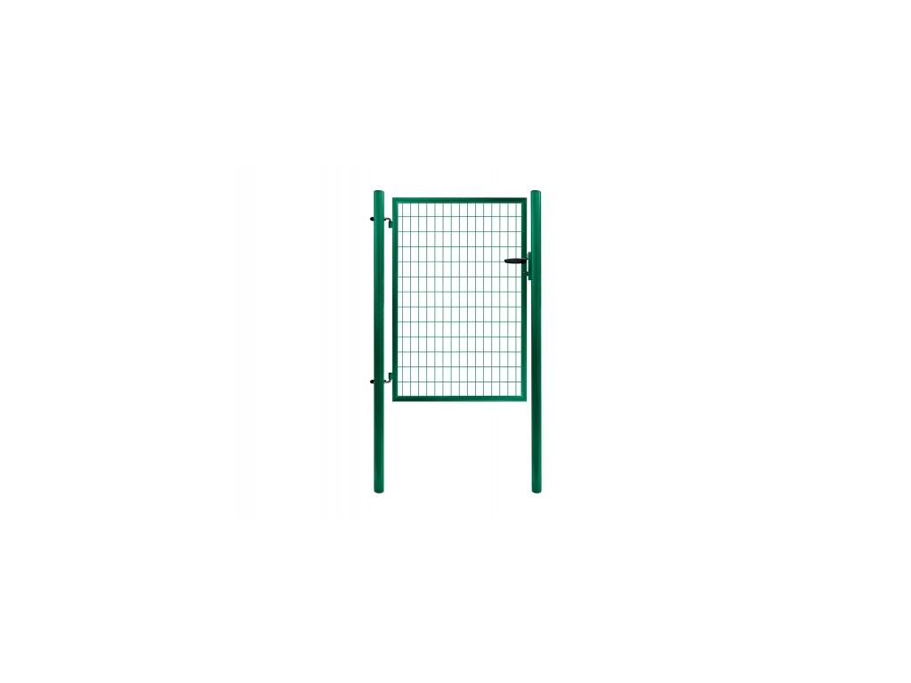3317 jednokridla branka svarovana sit zelena rozmery 1073x1450 mm zn pvc