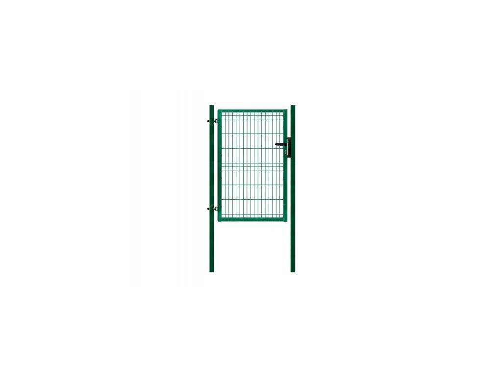 3395 jednokridla branka panel 3d zelena rozmery 1094x1745 mm zn pvc