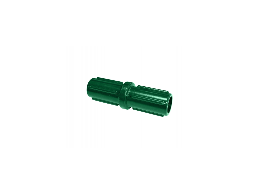 3488 spojka pro plotove sloupky 48 mm zelena
