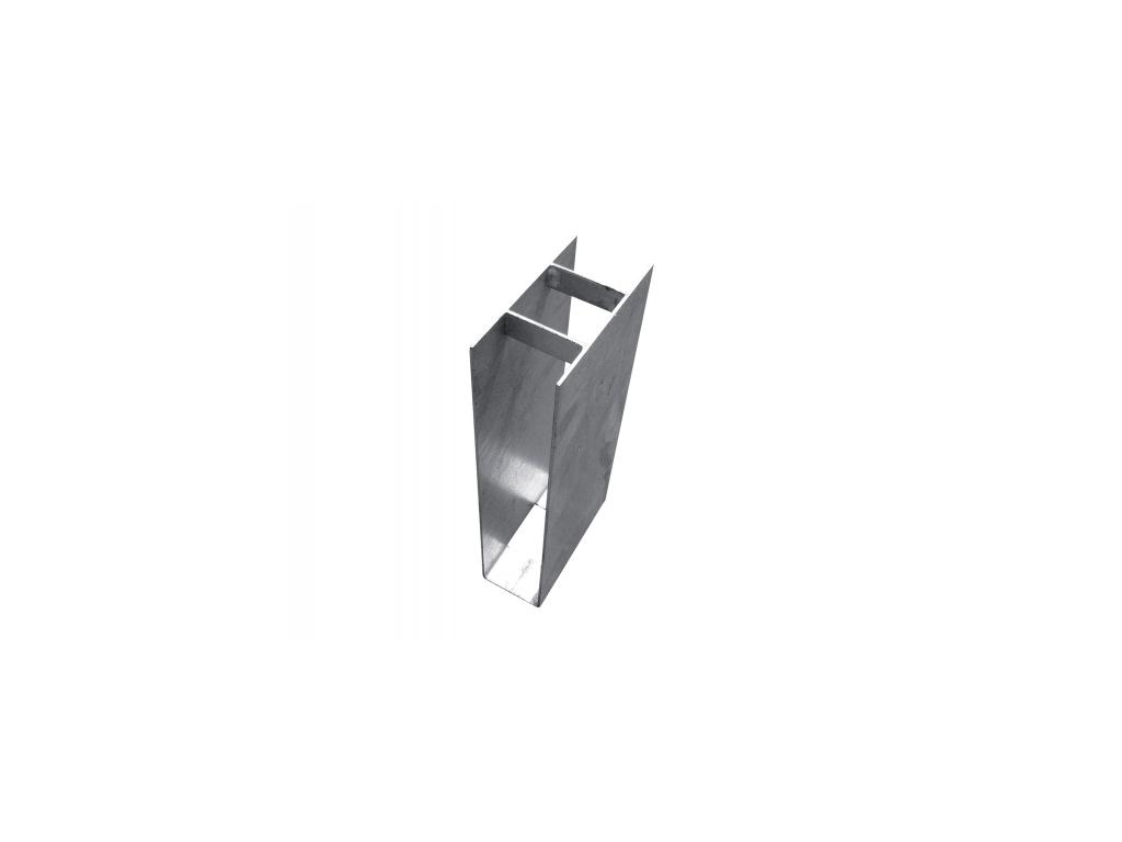 3554 drzak podhrabove desky zn vyska 300 mm prumer 48 mm prubezny